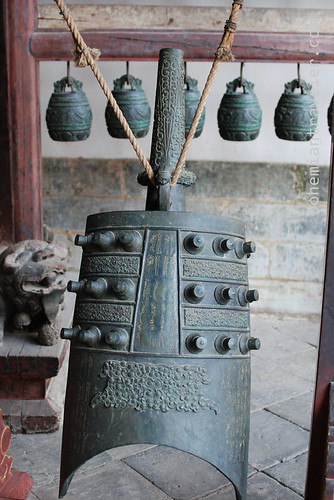 bell at Confucian Temple in Jianshui