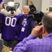 Willie the Wildcat with Northwestern Alumni