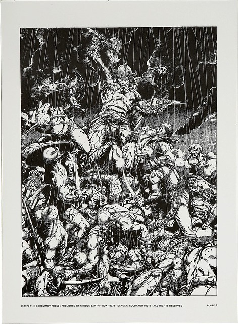 Barry Smith's Tupenny Conan Portfolio 4 1974