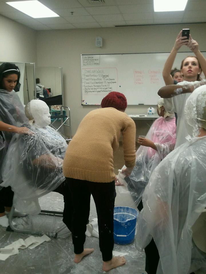 Clary Sage College Makeup Artistry Students