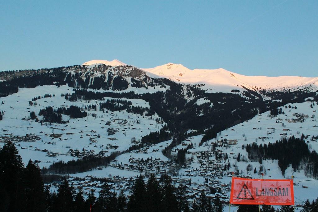 Rundweg Leiterli - Loipe , Lenk im Simmental - 56