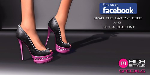 DIDI Pumps - Pink/Black SPECIALS by Mikee Mokeev