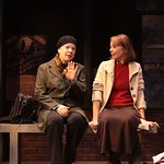 Nancy Gordon (Robin Pearson Rose, l.) describes the change in her outlook on life to best friend Laurie Jameson (Maureen Anderman) in the Huntington Theatre Company's production of Third by Wendy Wasserstein, playing at the BU Theatre, part of the 2007-2008 season. Photo: T. Charles Erickson