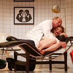 Paxton Whitehead as Dr. Rance and Susan O'Connor as Geraldine Barclay in the Huntington Theatre Company's production of
