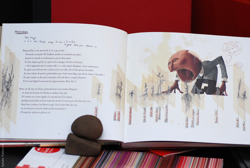 A picture book with illustrations from Rebecca Dautremer