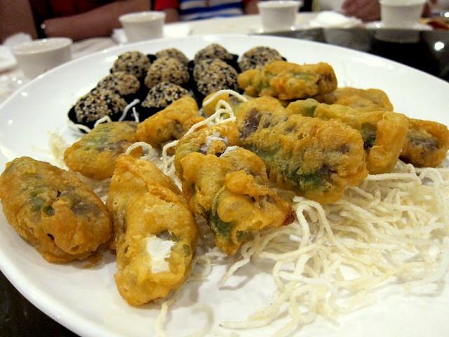 Deep Fried Nian Gao