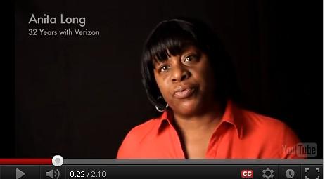 Verizon Worker
