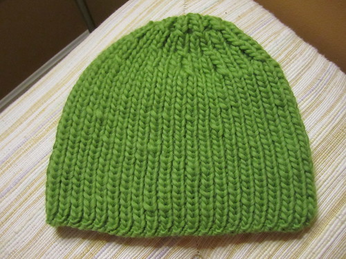 Green hat for Kara