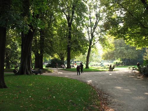 Jardin du Luxembourg, Paris (c2012 FK Benfield)