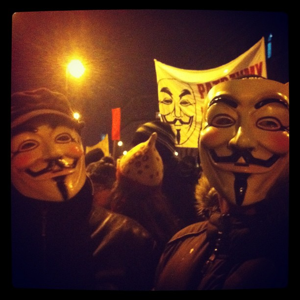 More Guy Fawkes! #acta #warsaw