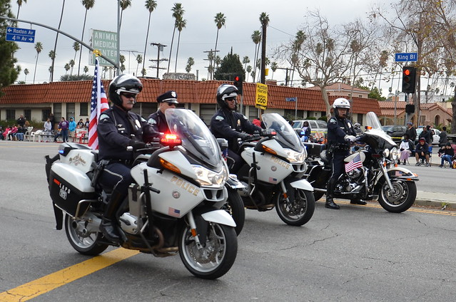 Los Angeles Police Department Lapd Motor Officers
