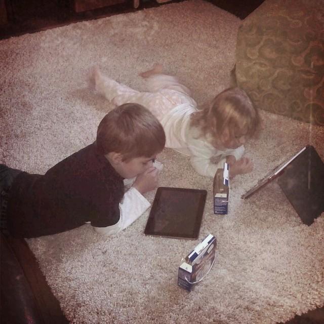 Hi-tech kiddos