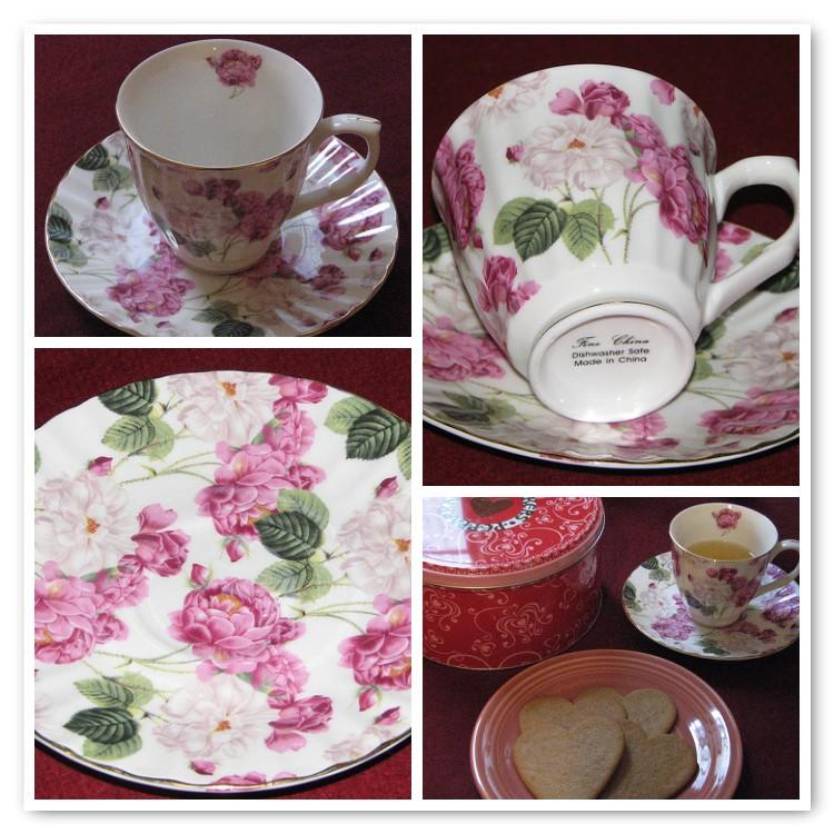 Valentine Tea Mosaic