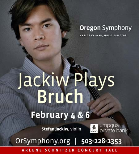 Jackiw Plays Bruch
