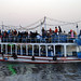 A ferry travelling across the Nile