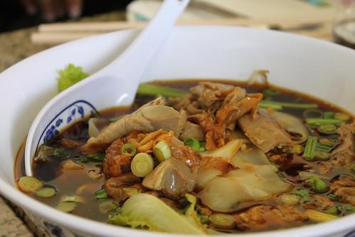 duck stew noodle soup