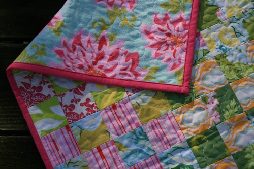 Olivia's Nicey Jane Quilt