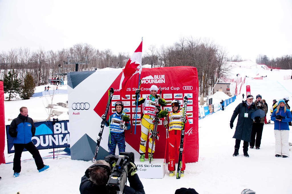 Marielle Thompson gets her first World Cup win.