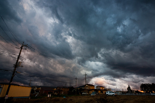 autumn sky japan clouds afternoon 日本 thunderstorm tochigi 栃木 takanezawa 高根沢 gettyimagesjapan12q1