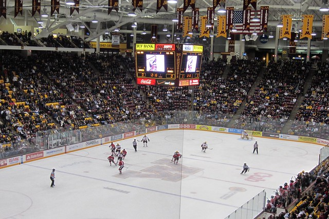 (27:366) Gopher Hockey Game from Flickr via Wylio