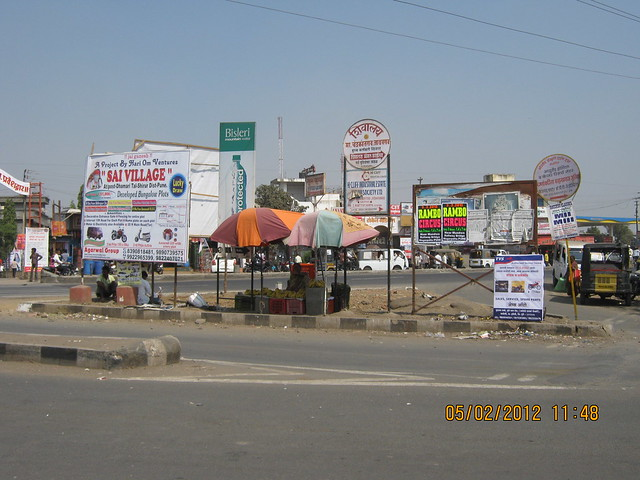 Kesnand Phata on Nagar Road - Visit Sukhwani Scarlet - 1 BHK, 1.5 BHK, 2 BHK & 3 BHK Flats - near Aurvedic College, on Kesnand Road, Wagholi, Pune 412 207 - 25