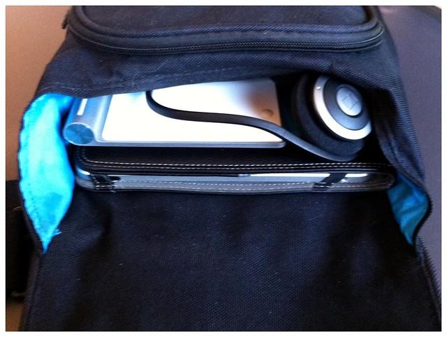 Die Office-Tasche gepackt