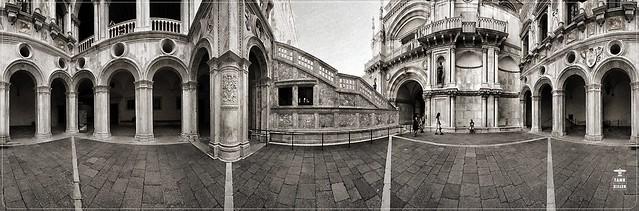 Velence, Óriások lépcsője / Venice: The Giants' Stairs
