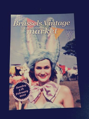 Flyer Brussels Vintage Market - 6832097263 7bd9e23883 - Brussels Vintage Market