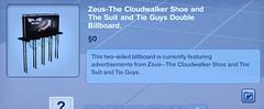 Zeus-The Cloudwalker Shoe Double Billboard