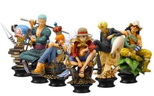 Em breve nas lojas: Xadrez com personagens de One Piece