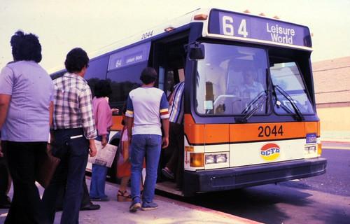 OCTD bus, 1980