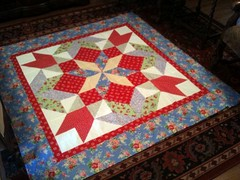 Quilt from Mystery Class!