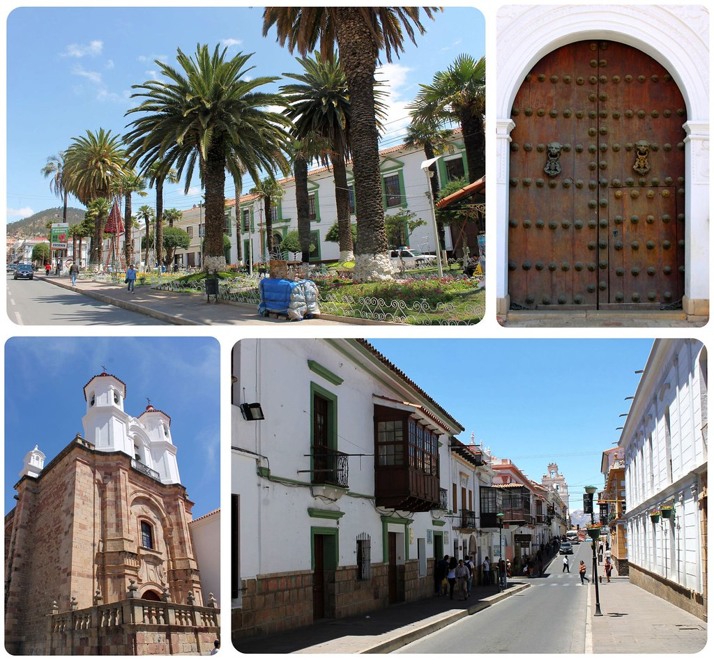 Sucre Bolivia Historic Center