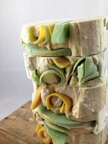 Lime & Ginger soap by The Daily Scrub