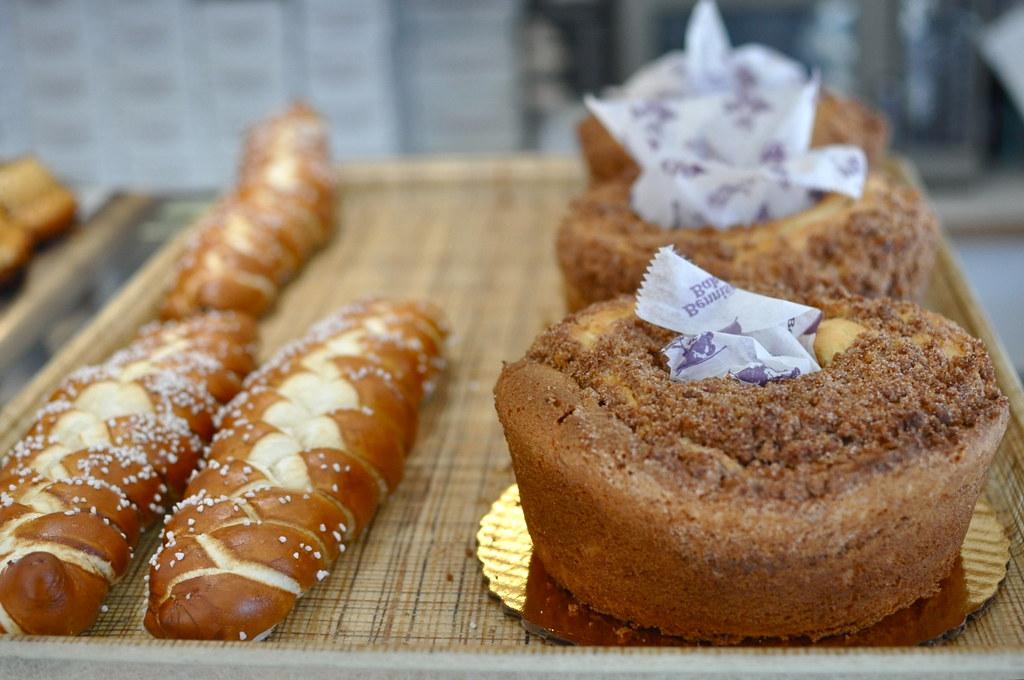 Cakes, bread