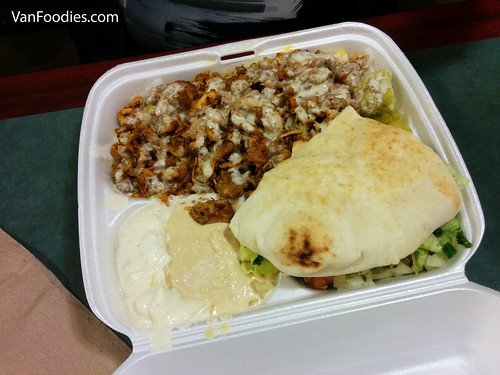 Chicken Shawarma Box