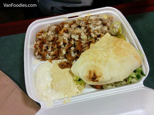 Chicken Shawarma Box