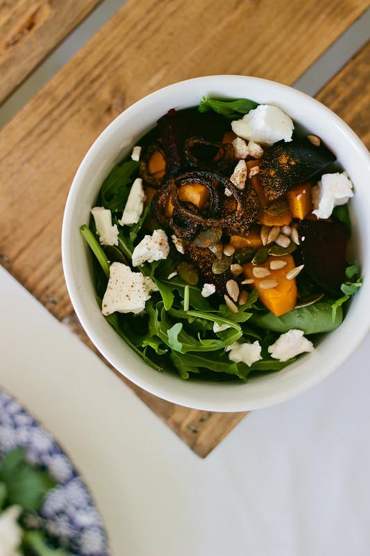 {sweet potato power salad} via chevrons & éclair