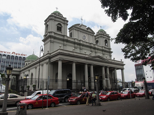 San José: la Cathédrale Métropolitaine