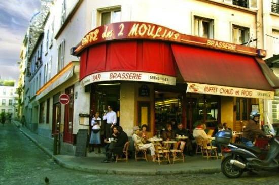 Les Deux Moulins (café from Amélie)