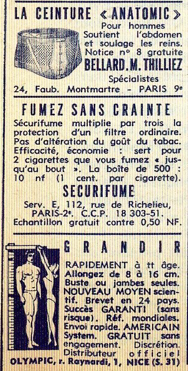 Paris Match, Nº 668, 27 Janvier, 1962 - 61b