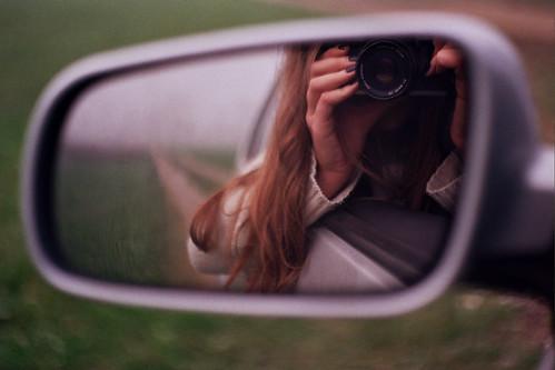 never look back.. by Katarina Ribnikar