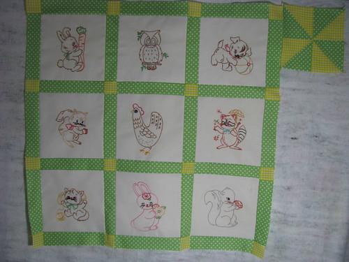 Hamster's 1st Quilt