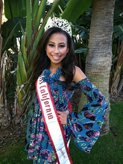 National American Miss California Dante Ricks