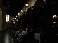 Lupo - Patio dining at Mandalay Bay