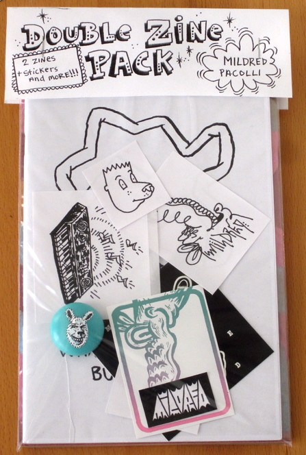 double zine pack