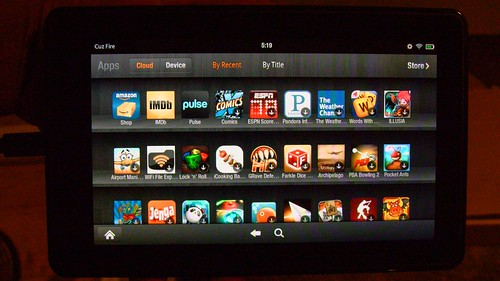 Amazon Kindle Fire Tablet Review Apps Booya Gadget