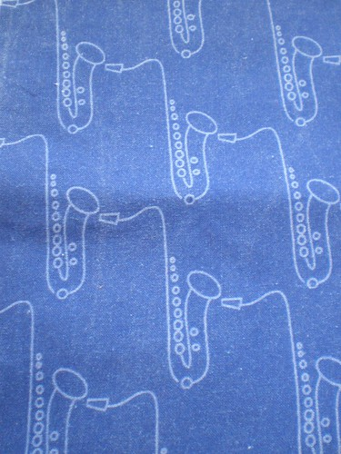 Saxophone Fabric
