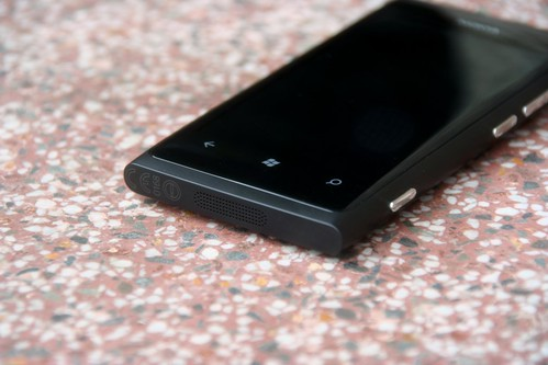 Lumia 800 - untere Hälfte