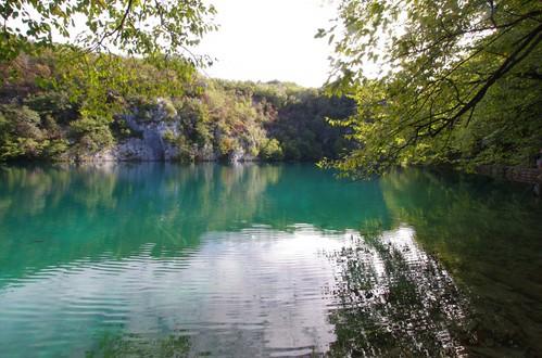 湖のある風景1